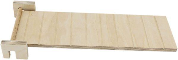 Getzoo schwenkbare Holzrampe L (32x10cm)
