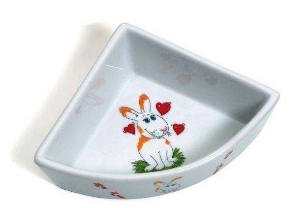 Karlie Keramik Ecknapf 250ml (Ecktoilette)